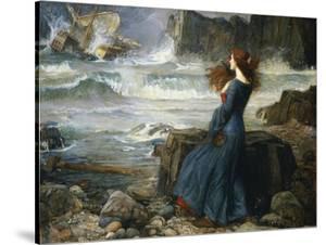 Miranda, the Tempest, 1916 by John William Waterhouse