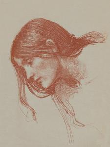 'Phyllis and Demophoon Study', c1897 by John William Waterhouse