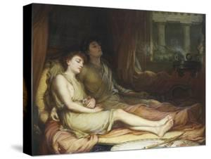 Sleep and His Half Brother Death by John William Waterhouse