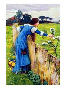 Spring by John William Waterhouse