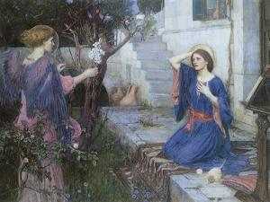 The Annunciation, 1914 by John William Waterhouse