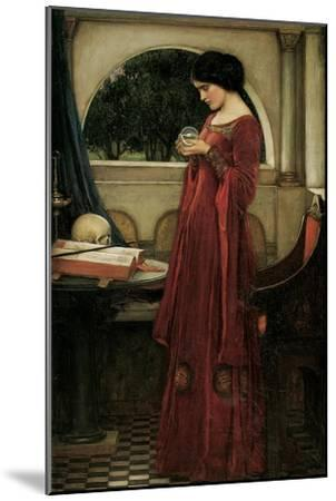 FANTASY ART PRINT The Crystal Ball John William Waterhouse 16x22.5