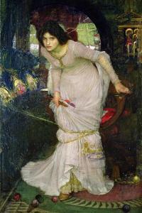 The Lady of Shalott, 1894 by John William Waterhouse