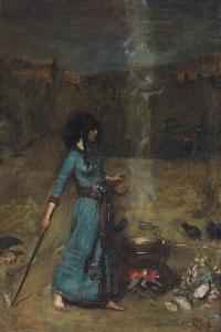 The Magic Circle, 1886 by John William Waterhouse