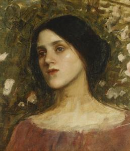 The Rose Bower by John William Waterhouse