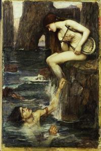 The Siren, c.1900 by John William Waterhouse