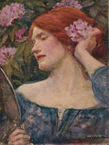 'Vanity', c1910 by John William Waterhouse