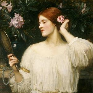 Vanity by John William Waterhouse