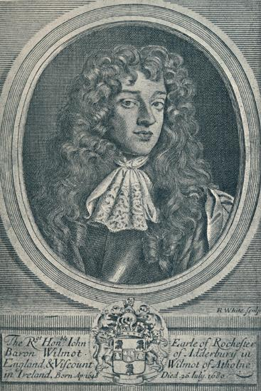 'John Wilmot, Earl of Rochester (b. 1648, d. 1680)', 1907-Unknown-Giclee Print