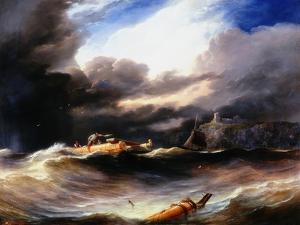 After a Storm by John Wilson Carmichael