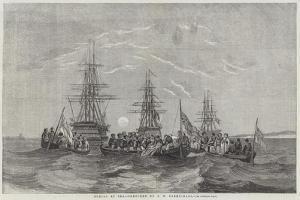 Burial at Sea by John Wilson Carmichael