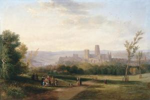Durham, 1841 by John Wilson Carmichael