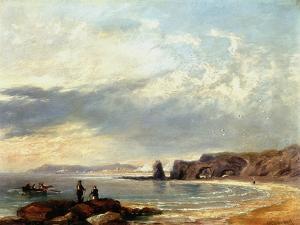 Marsden Rocks, Sunderland, 1847 by John Wilson Carmichael