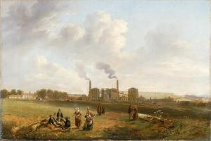 Murton Colliery, 1843 by John Wilson Carmichael