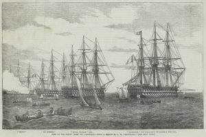 Part of the Baltic Fleet Off Cronstadt by John Wilson Carmichael