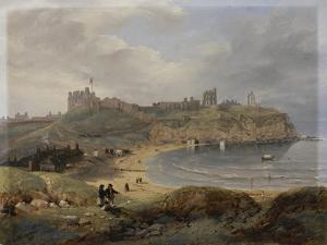 Prior's Haven, Tynemouth, 1845 by John Wilson Carmichael