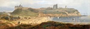 Priory and Castle, Tynemouth by John Wilson Carmichael