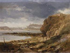 Shields from the Harbour Mouth, 1845 by John Wilson Carmichael