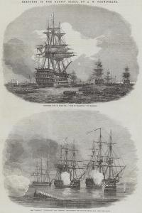 Sketches in the Baltic Fleet by John Wilson Carmichael