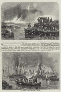 The Bombardment of Sveaborg by John Wilson Carmichael