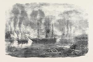 The Bulldog and Starling Intercepting Trading Vessels by John Wilson Carmichael