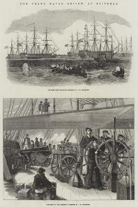 The Grand Naval Review, at Spithead by John Wilson Carmichael
