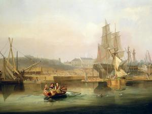 The Shipyard at Hessle Cliff, 1820 by John Wilson Carmichael