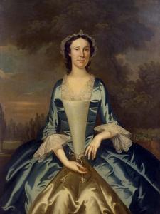 Mrs. William Walton (1708-86), C.1750 by John Wollaston