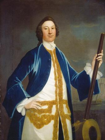 Unidentified British Naval Officer, c.1745