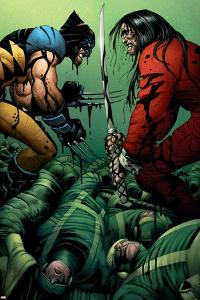 Wolverine No.31 Cover: Wolverine and Gorgon by John