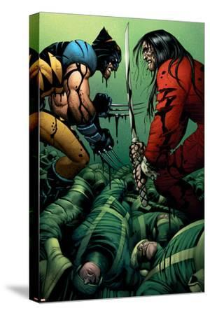 Wolverine No.31 Cover: Wolverine and Gorgon