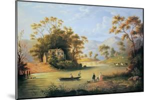 Boating On The Hudson by John Woodhouse Audubon