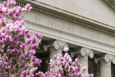 The Treasury Department Building in Washington, D.C., United States of America, North America