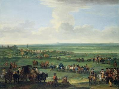 George I (1660-1727) at Newmarket, 4th or 5th October 1717, c.1717