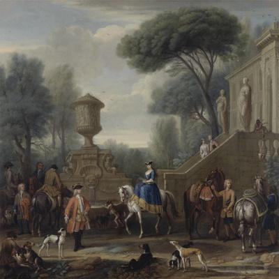 Preparing for the Hunt, C.1740-50