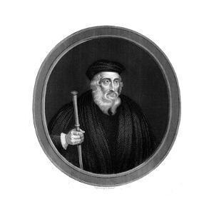 John Wycliffe, 14th Century English Religious Reformer, 1851