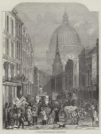 A London Thoroughfare, Fleet-Street