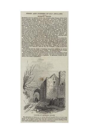 Remains of Richmond Palace