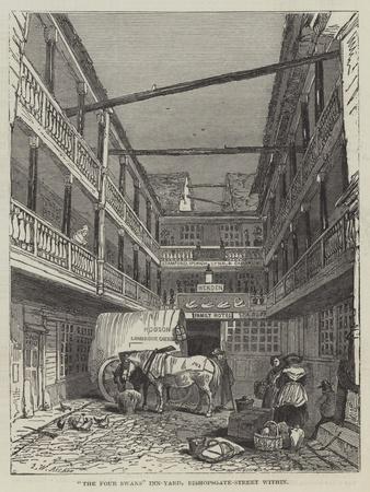 The Four Swans Inn-Yard, Bishopsgate-Street Within