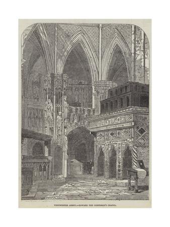 Westminster Abbey, Edward the Confessor's Chapel