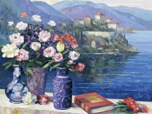 Mediterranian Scene by John Zaccheo