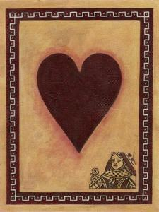 Queen of Hearts by John Zaccheo