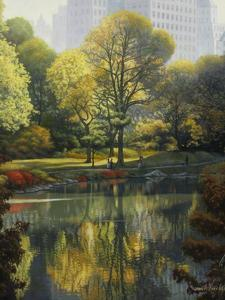 Reflection of the Park by John Zaccheo