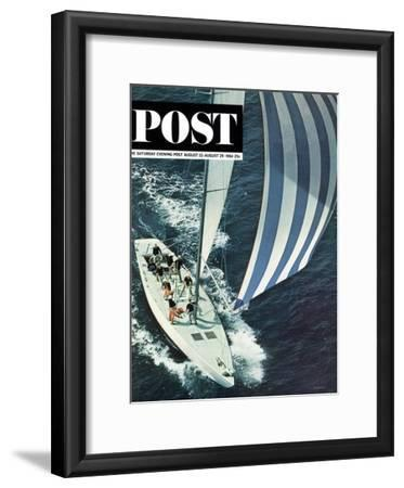 """""""America's Cup,"""" Saturday Evening Post Cover, August 22, 1964"""