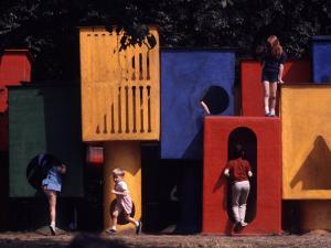 Children at Play in New York City Playgrounds by John Zimmerman