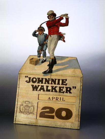 Johnnie Walker calendar-Unknown-Giclee Print