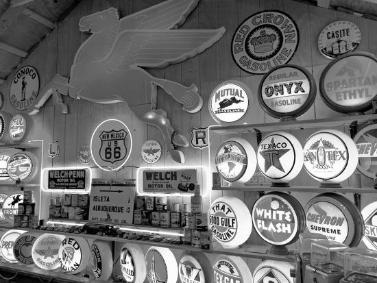 Johnnies Classic Gas Museum, Dixon, New Mexico, Usa-Julian McRoberts-Photographic Print