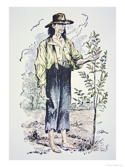 Johnny Appleseed--Giclee Print