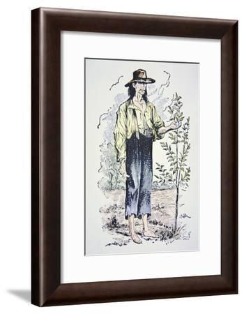 Johnny Appleseed--Framed Giclee Print