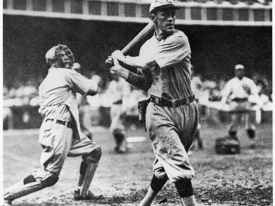 Johnny Evers of the Chicago Cubs in Action During 1906--Giclee Print